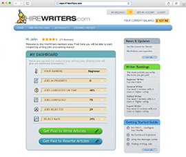 freelance writing platforms Discover how to become a freelance writer so you can quit your day job, set  if  you wish to avoid upwork, other freelance writing platforms are.